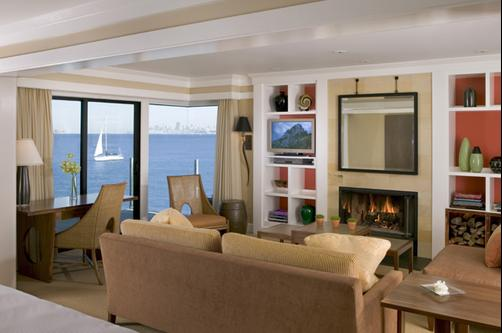 The Inn Above Tide - Sausalito - Living room