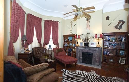 1896 O'Malley House - New Orleans - Living room