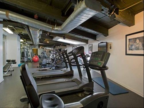 The Fisher Building - Chicago - Gym