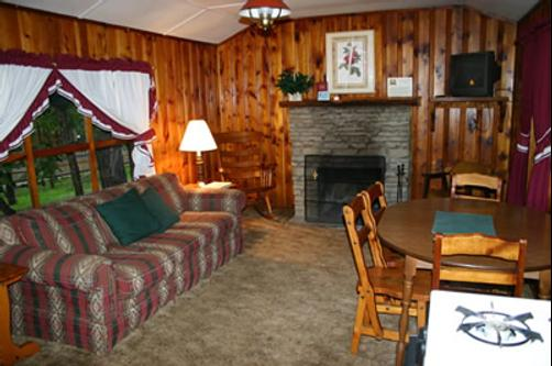 Dan Dee Cabins Resort - Ruidoso - Living room