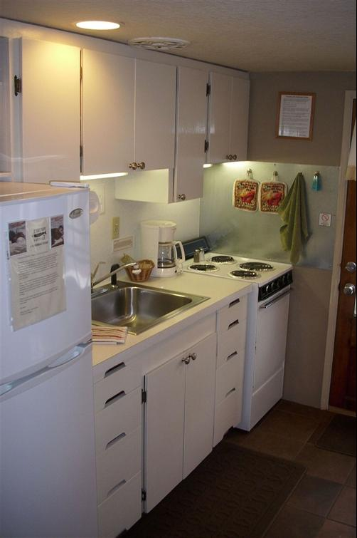 Anchorage Cottages - Long Beach - Kitchen