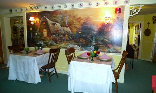 English Rose Inn - Montgomery Center - Restaurant