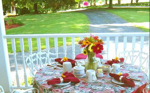 The Dominion House Bed & Breakfast - Blooming Grove - Restaurant