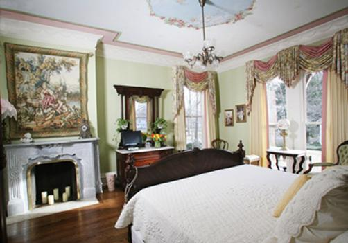 Silas W Robbins House - Wethersfield - Bedroom