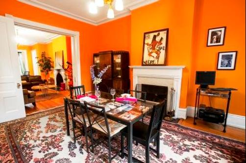 The Ivy Mansion B&B at Dupont Circle - Washington - Restaurant