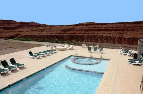 Hat Rock Inn - Mexican Hat - Pool