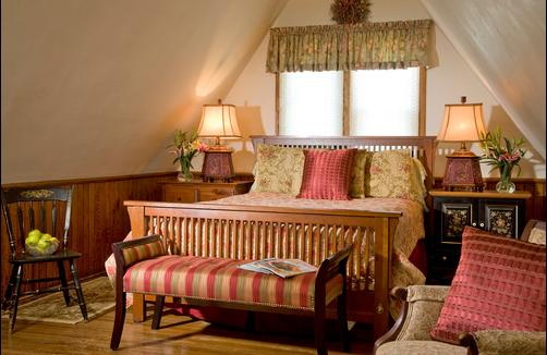 The William Henry Miller Inn - Ithaca - Bedroom