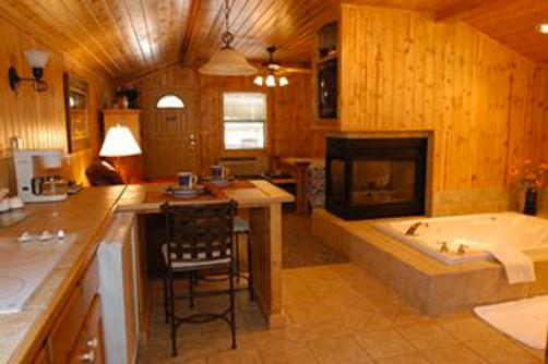 Forest Home Cabins - Ruidoso - Living room