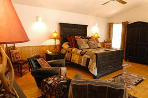 Forest Home Cabins - Ruidoso - Bedroom