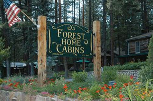 Forest Home Cabins - Ruidoso - Front desk