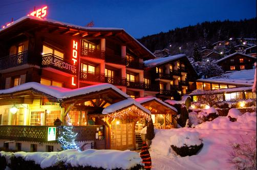 Residence Hotel Les Cotes - Morzine - Outdoors view