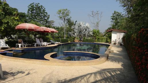 Swiss Orchid Bungalow Resort - Cha Am - Pool