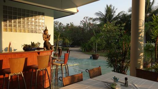 Swiss Orchid Bungalow Resort - Cha Am - Restaurant