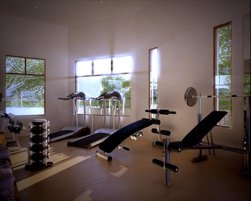 Hotel Plaza Central Canning - Ezeiza - Gym