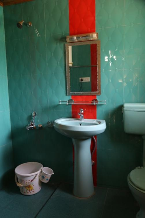 Swiss Hotel Kashmir - Srinagar - Bathroom