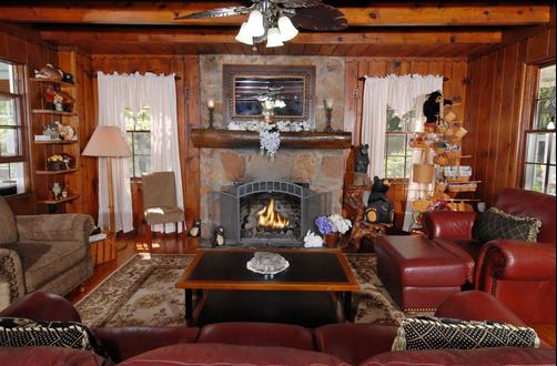 Laurel Springs Lodge B&B - Gatlinburg - Living room