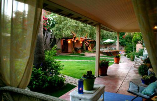 Peppertrees Bed and Breakfast Inn - Tucson - Patio