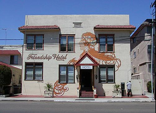 Friendship Hotel - San Diego - Building