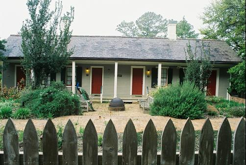 Cook's Cottage at Rip Van Winkle Gardens - New Iberia - Building