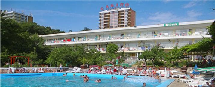 Hotel Riva Park - Golden Sands - Building