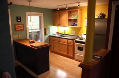 Dubuque Lane Guest House - Burlington - Kitchen