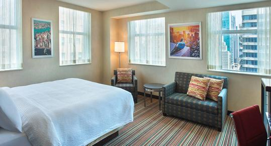 Courtyard by Marriott New York Manhattan Herald Square - New York - Bedroom