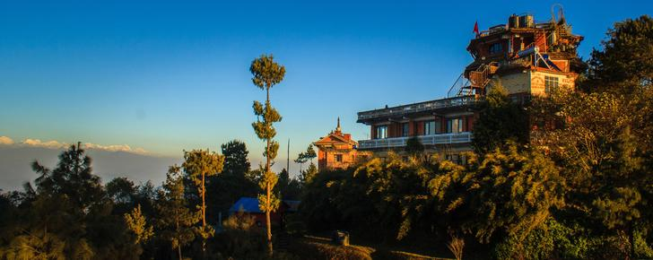 Peaceful Cottage & Cafe du Mont - Nagarkot - Outdoors view