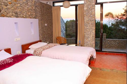Peaceful Cottage & Cafe du Mont - Nagarkot - Bedroom