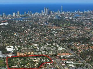 Gold Coast - Aerial photo of location from Surfers Paradise
