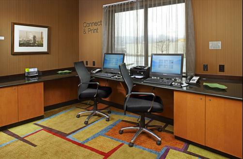 Fairfield Inn and Suites by Marriott Pittsburgh Neville Island - Pittsburgh - Business center