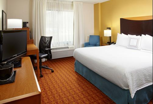 Fairfield Inn and Suites by Marriott Pittsburgh Neville Island - Pittsburgh - King bedroom