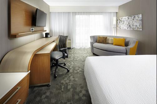 Courtyard by Marriott State College - State College - Bedroom