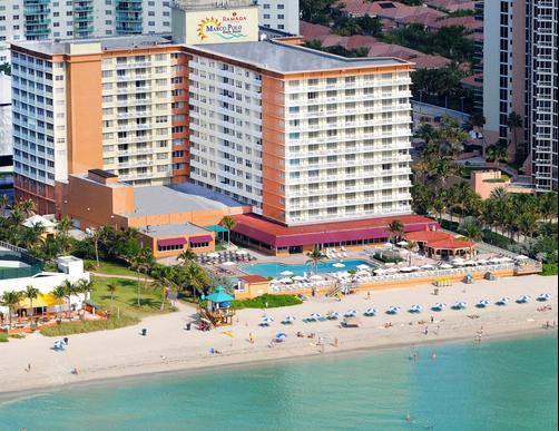 Ramada Plaza Marco Polo Beach Resort - North Miami Beach - Building