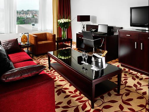 Zurich Marriott Hotel - Zurich - Living room
