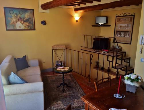 La Città Ideale Suites - Pienza - Living room