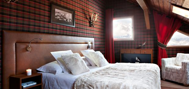 Lodge Park - Megeve - Bedroom