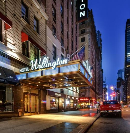 Wellington Hotel - New York - Building