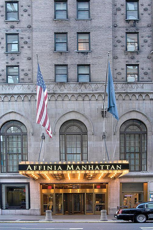 Manhattan NYC-an Affinia hotel - New York - Building