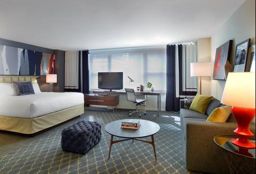 Fifty NYC-an Affinia hotel - New York - Bedroom
