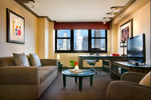 Dumont NYC-an Affinia hotel - New York - Bedroom
