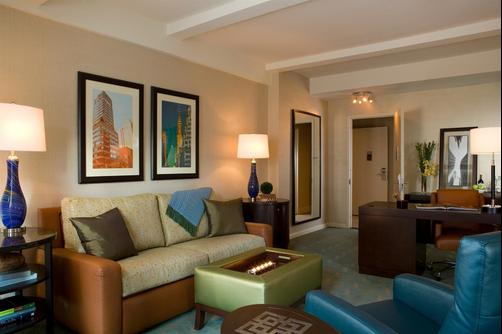 Shelburne NYC-an Affinia hotel - New York City - Living room
