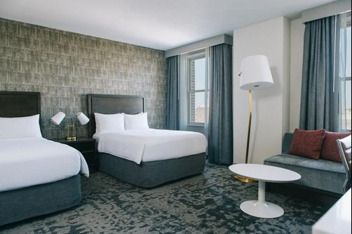 Marriott St Louis Grand Hotel - St. Louis - Bedroom