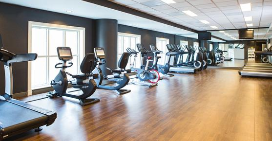 Marriott St Louis Grand Hotel - St. Louis - Gym
