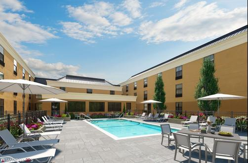 Four Points by Sheraton Newburgh Stewart Airport - Newburgh - Pool