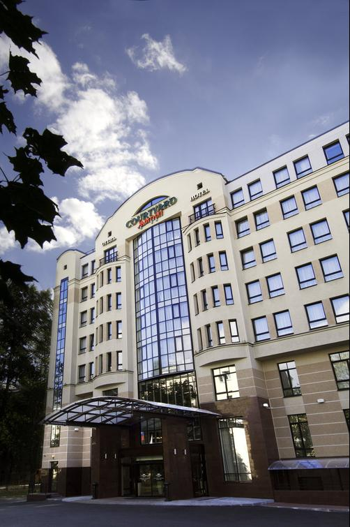 Courtyard by Marriott St Petersburg Center West-Pushkin Hotel - Saint Petersburg - Building