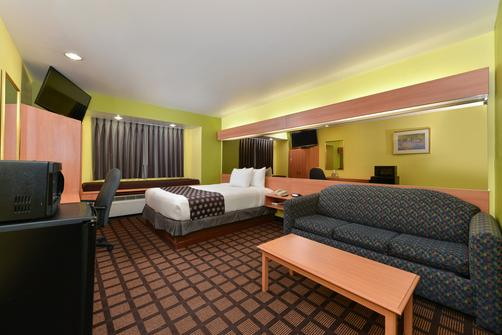 Microtel Inn & Suites by Wyndham Ft. Worth North/At Fossil - Fort Worth - Bed