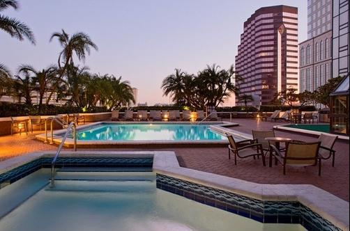 Hilton Tampa Downtown - Tampa - Pool