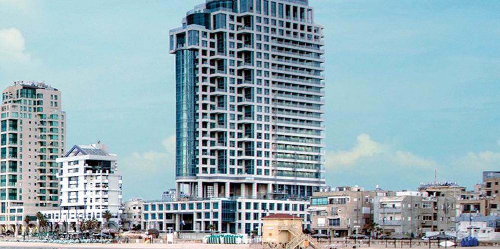 Royal Beach Tel Aviv Pool Media Tour