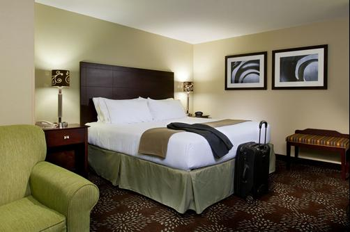 Holiday Inn Express & Suites Pittsburgh West - Greentree - Pittsburgh - King bedroom
