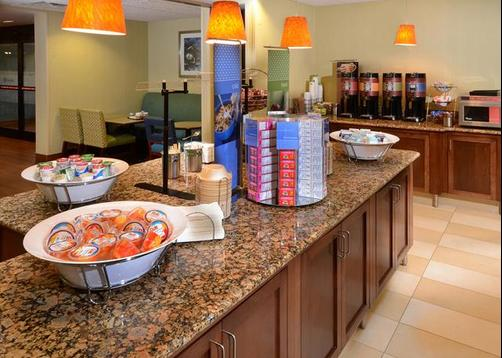 Hampton Inn Raleigh/Town Of Wake Forest - Wake Forest - Restaurant